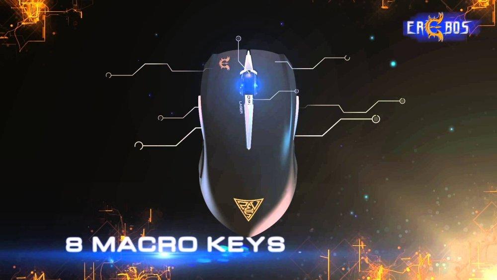 Gamdias Hades Extension Laser Gaming Mouse