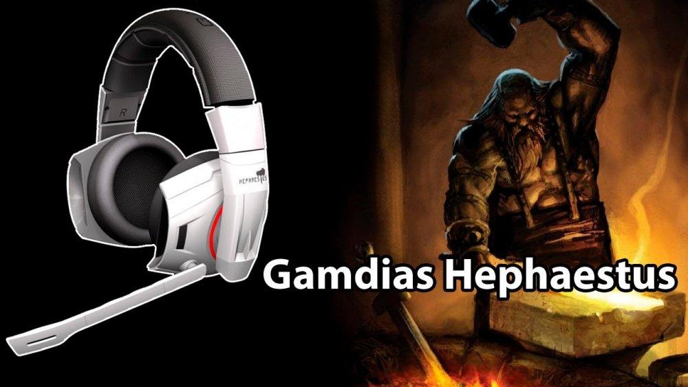 Gamdias Hephaestus 7.2 Gaming Headset USB (GHS2000)