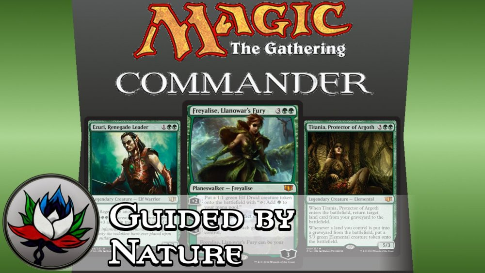 Magic: The Gathering – Commander 2014, Guided by Nature