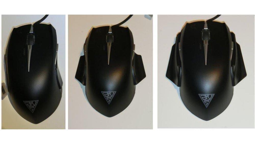 Gamdias Erebos Laser Extension Gaming Mouse