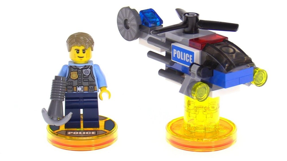 Lego Dimensions: Lego City Chase McCain Fun Pack
