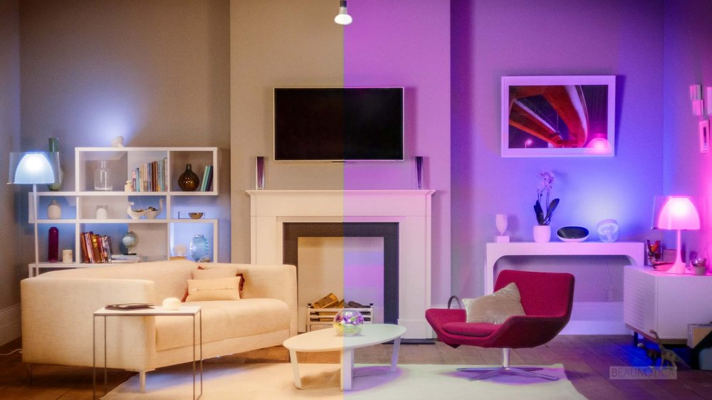 Philips Hue (White and Color Ambiance Starter Kit samt Wireless Dimming Kit)