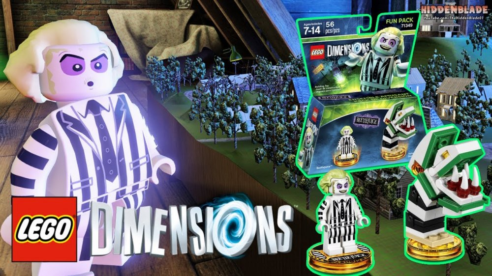 Lego Dimensions: Beetlejuice Fun Pack