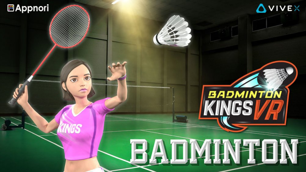 Badminton Kings VR (Steam early access)