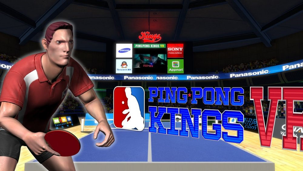 PingPong Kings VR (Steam early access)