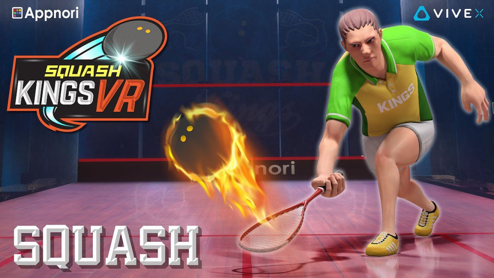 Squash Kings VR (Steam early access)