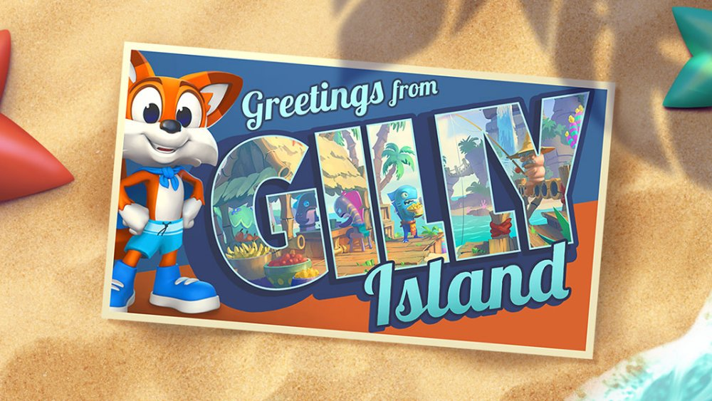 Super Lucky's Tale: Gilly Island DLC