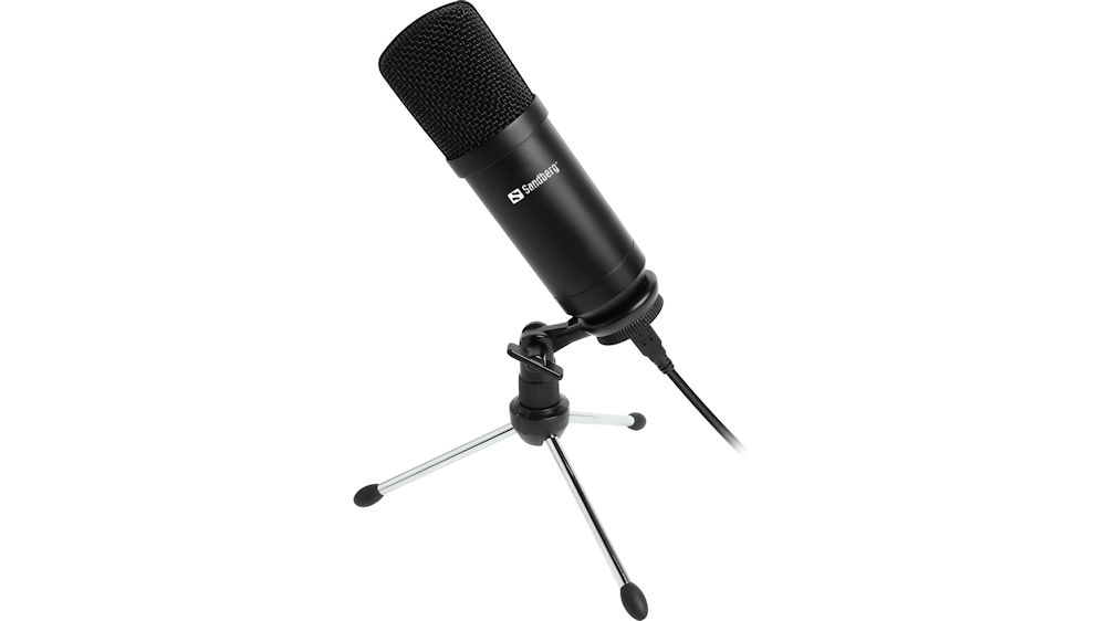 Sandberg Streamer USB Desktop Microphone