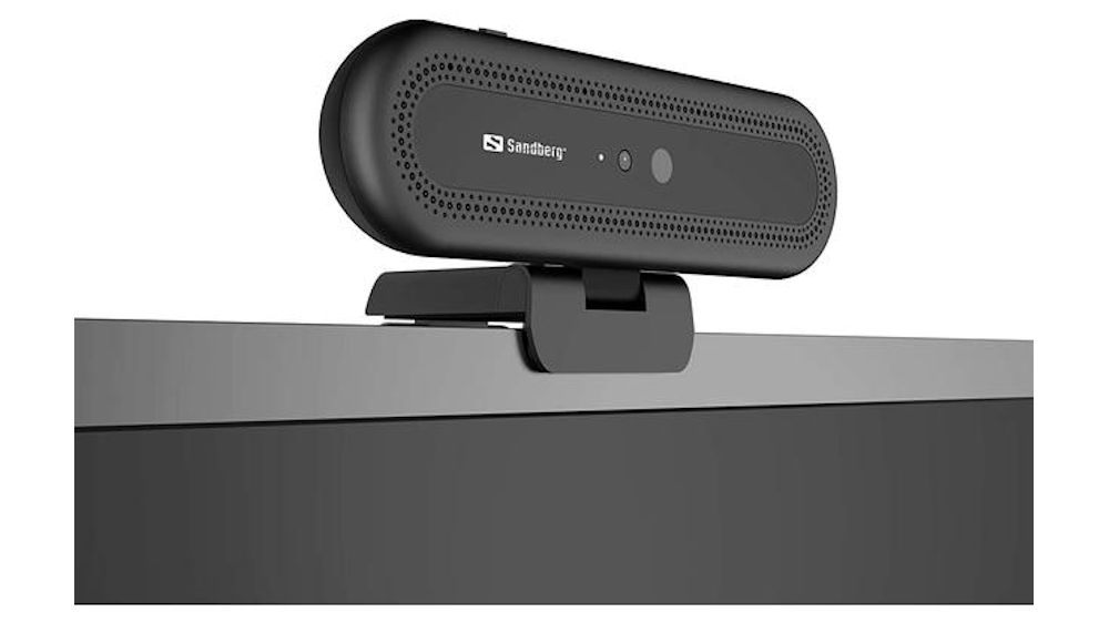 Sandberg USB Face Recognition Webcam 1080P HD